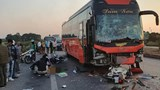 Nữ phụ xe khách tử vong sau tai nạn liên hoàn trên Cao tốc Hà Nội - Bắc Giang