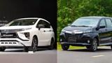 Toyota Avanza và Mitsubishi Xpander một lối đi, hai số phận