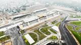 [Ảnh] Đường đua F1 Hà Nội gấp rút hoàn thành, lập hàng rào bảo vệ mặt đường tiêu chuẩn