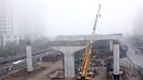 Phấn đấu tháng 9/2020 thông tuyến cầu cạn đoạn Mai Dịch - Nam Thăng Long