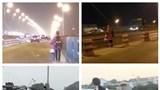 Mẹ dắt con đi ăn xin bị tông xe trên cầu Thanh Trì: Cháu bé hiện giờ ra sao?