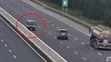Phạt 17 triệu đồng, tước GPLX 6 tháng tài xế đi ngược chiều trên cao tốc Hà Nội - Hải Phòng
