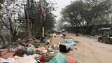 Bao giờ xử lý núi rác trên đường Nguyễn Cảnh Dị kéo dài?