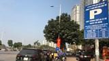Tình trạng ô tô dừng đỗ sai quy định trên phố Trần Hữu Dực