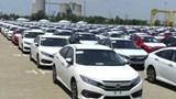 Nhập khẩu ô tô giảm 60% trong tháng 2