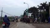 Cải tạo đường gây cản trở giao thông, ô nhiễm bùn đất