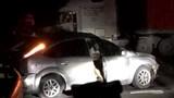 Một quân nhân tử vong trong ô tô con sau va chạm với xe container