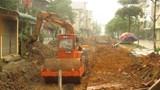 Nhiều tắc trách tại dự án cải tạo đường ở thị trấn Quốc Oai