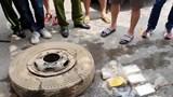 Bắt nhóm đối tượng giấu 16 bánh heroin trong lốp xe tải mang đi tiêu thụ