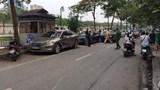 Xe điên gây tai nạn liên hoàn trên phố Quan Hoa