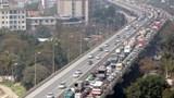Khoảng 50 nghìn lượt phương tiện đi trên vành đai 3 trên cao trong 1 ngày