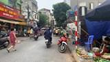 Tại phường Minh Khai, quận Hai Bà Trưng: Chợ tạm tràn lối đi