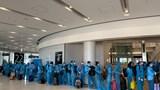 Chuyến bay đưa 342 công dân Việt Nam từ Nhật Bản đã hạ cánh xuống Đà Nẵng