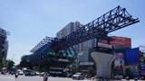 Cận cảnh dự án Vành đai 2, đoạn từ cầu Vĩnh Tuy - Ngã Tư Sở đang dần hoàn thiện