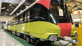 Đoàn tàu đầu tiên tuyến đường sắt đô thị Nhổn - ga Hà Nội chạy thử ở Pháp