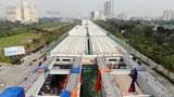 Tiến độ dự án cầu cạn Mai Dịch - Nam Thăng Long