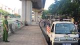 Công an phường Ngã Tư Sở: Tích cực xử lý tình trạng họp chợ lấn chiếm vỉa hè phố Cầu Mới