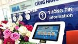 Sân bay Nội Bài ngừng phát thanh một số bản tin thông tin chuyến bay từ 30/7