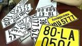 Đề nghị giảm phí cấp đổi biển số xe sang màu vàng