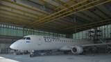 Rò rỉ hình ảnh máy bay phản lực thế hệ mới Embraer E195 được cho là sắp bay Côn Đảo