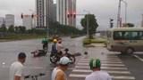 Hà Nội: Tài xế GrabBike tử vong sau va chạm giao thông với xe khách
