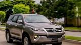 Giá xe ô tô hôm nay 3/9: Toyota Fortuner dao động từ 1,033 - 1,354 tỷ đồng