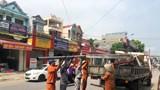 Hà Nội: Giải tỏa vi phạm hành lang an toàn giao thông dọc Quốc lộ 32 tại huyện Ba Vì