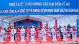Khởi công xây dựng tuyến đường bộ ven biển đoạn qua tỉnh Nam Định