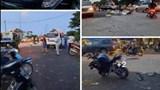 Đã tìm thấy tài xế ô tô tông tử vong người đi xe máy rồi bỏ chạy tại cầu Mai Lĩnh