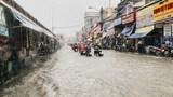 TP Hồ Chí Minh: Thủ Đức ngập nặng sau mưa lớn