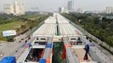 Hà Nội: Tổ chức giao thông đoạn cầu cạn Mai Dịch - Nam Thăng Long
