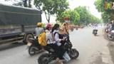 Phổ biến tình trạng học sinh vi phạm luật giao thông