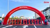 Khánh thành cầu cạn Mai Dịch - Nam Thăng Long