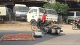 Hà Nội: Va chạm với xe container, người đàn ông tử vong tại chỗ