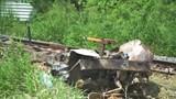 Tàu hỏa tông xe chở lúa, 1 người tử vong