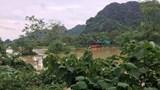Ninh Bình: Hai học sinh bị lũ cuốn trôi khi đi qua đường ngập