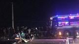 Va chạm với xe khách, 2 người đi xe máy tử vong