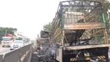 Tai nạn giao thông mới nhất hôm nay 26/10: Hai xe bốc cháy dữ dội trên quốc lộ 1A