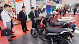 Xe máy điện VinFast gây chú ý tại Diễn đàn cao cấp Đô thị thông minh ASEAN 2020