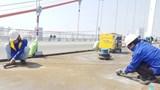 Mặt cầu Thăng Long sẽ hoàn thành sửa chữa đúng tiến độ vào cuối năm nay