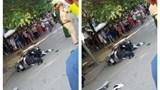 Hà Nội: Đấu đầu với xe ben, tài xế xe máy tử vong tại chỗ