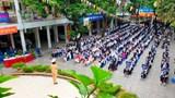 Công an quận Thanh Xuân tăng cường phổ biến kiến thức luật giao thông