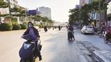 [Điểm nóng giao thông] Đi ngược chiều nguy hiểm tại nút giao Ngã Tư Sở
