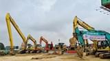 Thi công thêm 3 gói thầu của tuyến cao tốc Mai Sơn - Quốc lộ 45
