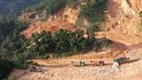 Tháo dỡ chốt cấm đường trên tuyến Hồ Chí Minh nhánh Tây đoạn qua Quảng Trị