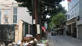 """Tiếp bài """"Phố Yên Phụ tràn ngập rác thải"""": Nhà thầu thiếu kinh nghiệm, năng lực làm vệ sinh môi trường?"""