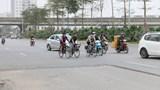 Đóng làn xe thô sơ đường Nguyễn Xiển - Xa La trong 2 tháng