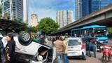 Tai nạn liên hoàn trên đường Phạm Hùng, 2 người nhập viện cấp cứu