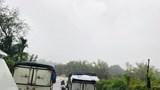 Mưa lớn kéo dài khiến Quốc lộ 40B bị chia cắt, huyện Nam Trà My sạt lở trở lại