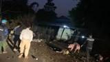 Xe tải đè tử vong 2 người đi xe máy